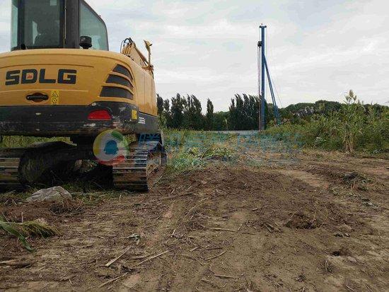 9月15日隆基泰和未来花郡项目工程现场进度展示!