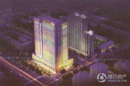 保利大厦高标准的小区绿化和环境建设