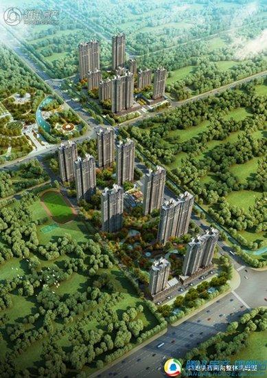 荣盛公园印象 东部耀眼楼盘让你生活在江南风景中