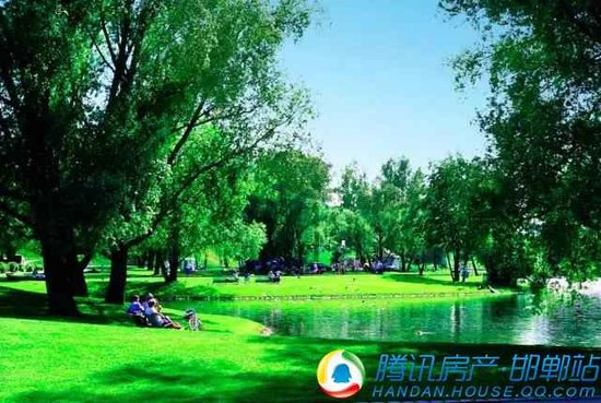 邯郸北湖新城 恒大绿洲 一花一世界 一叶一绿洲