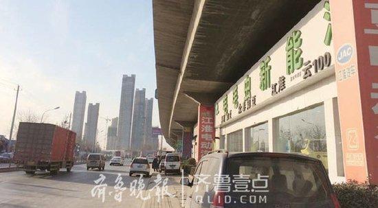 济南高速桥下违建重灾区拆迁!