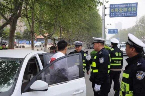 查处假牌套牌违法行为 邯郸交警再掀整治高潮