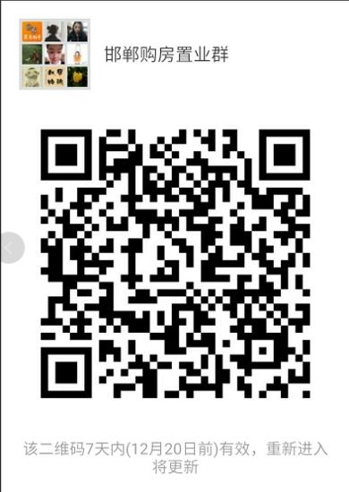 2017年12月邯山区在售楼盘房价一览表(实时更新)