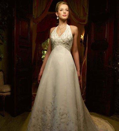十二星座新娘最适合的婚纱款式