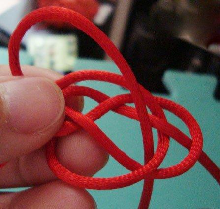 红绳手链编法(图)