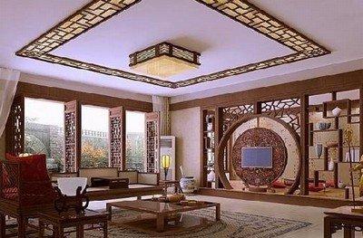 20款新中式客厅装修案例