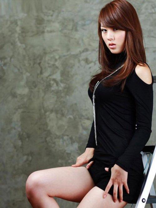 韩国美女车模v语言代言人
