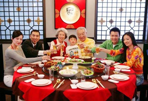 中国餐桌上的礼仪