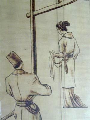 古代女子遭受类似整形的宫刑图片