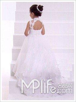 水瓶宝宝的婚纱秀-12星座婚礼花童的儿童婚纱秀