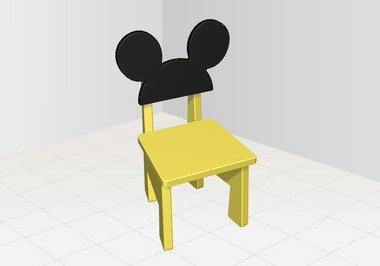 迪斯尼卡通儿童座椅 小孩的最爱