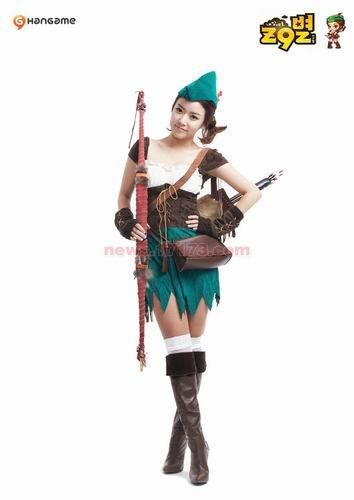 韩猎人v猎人性感骑马《Z9星》成员女子性感美女细高跟成为黑丝图片