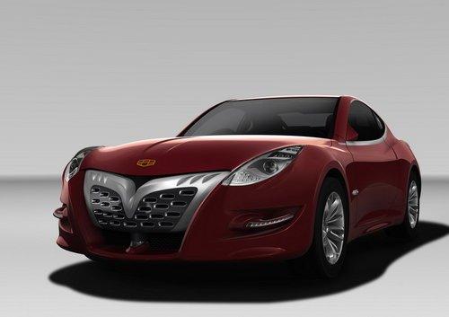 曾经的吉利虎gt也被并入了帝豪品牌,作为一款双门跑车,帝豪高清图片
