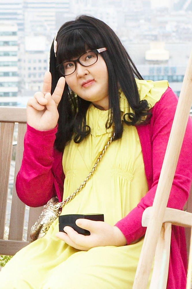 美女金素妍变大胖子