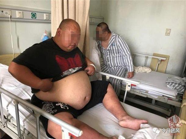 黄冈男子体重曾高达311斤 手术缩胃50天减重86斤