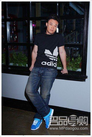 陈奕迅代言adidas Originals 亲身示范经典款式-Adidas三叶草春夏新品