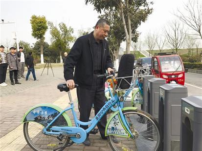 共享单车PK公共自行车 襄阳市民这么选择(图)