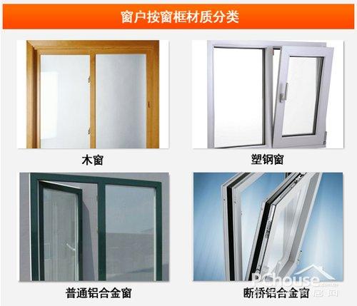 断桥铝合金窗也列上,是因为它的隔热性能突出,比较常用于保暖窗户装修