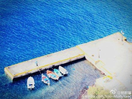 我的心 跳进爱琴海那一片蓝