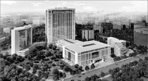 武汉市儿童医院新大楼(规划图)计划3年完工