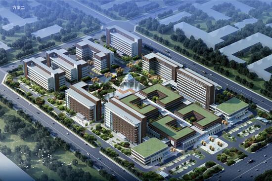 湖北省中醫院武東院區今日奠基 集醫教研產于