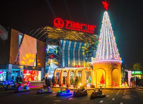 光彩圣诞季 经开万达把家庭欢享地进行到底