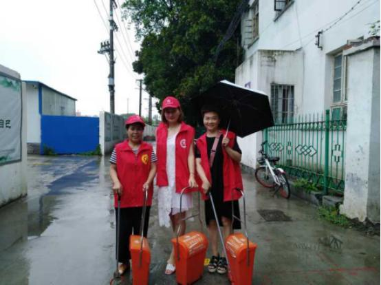 荆州市机关幼儿园:联点共建文明社区 携手共创文明城市