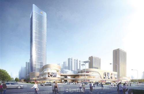 218米!荆州即将崛起一座江汉平原第一高楼