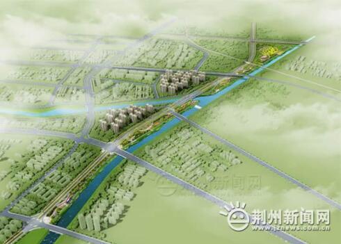 荆州这一段路年底将通车 一波效果图曝光