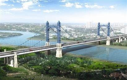 武汉江汉六桥今日动工 总造价约15亿元(图)