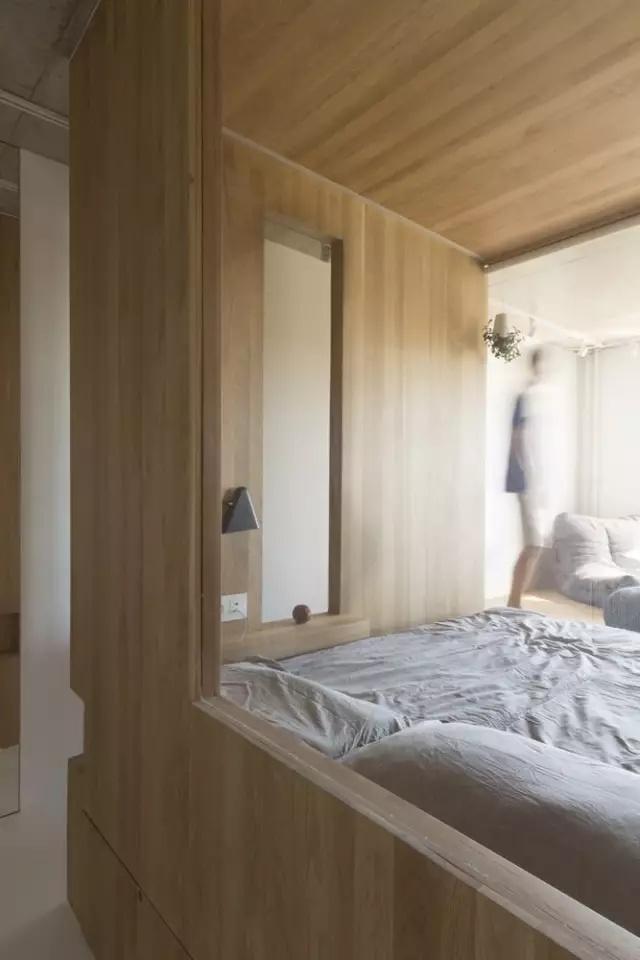 小户型卧室只有5㎡ 这设计却惊艳到了我!图片
