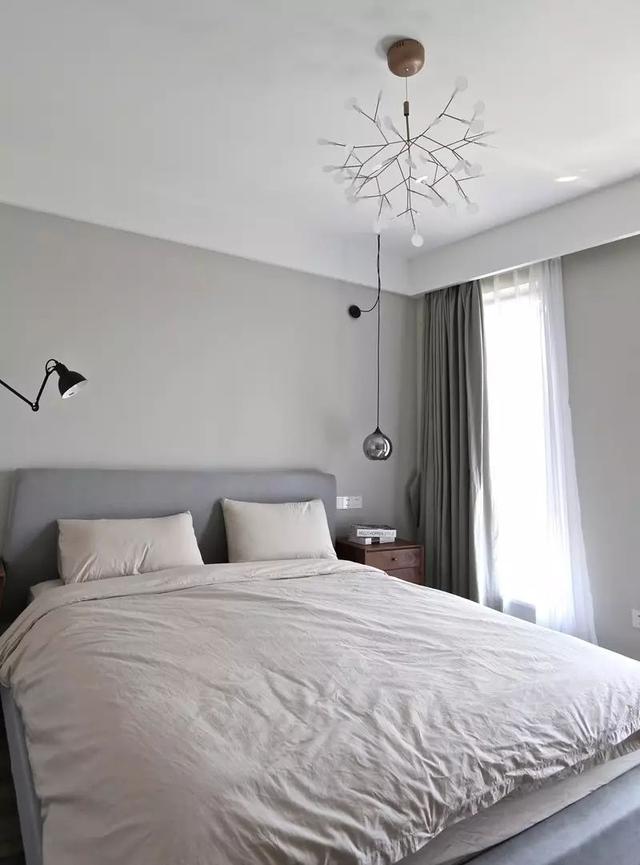 三、床头吊灯 跟壁灯类似