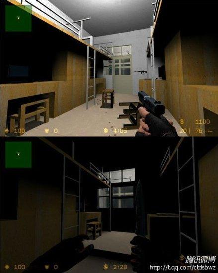 华农校园实景被制成枪战游戏地图 发帖引热议