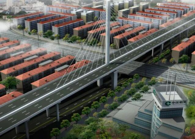 速看!东西轴线樊城段高架桥11处上下桥匝道公布