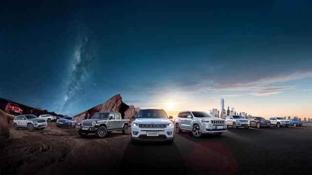 Jeep家族最强SUV阵容,广州车展