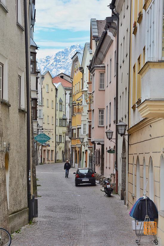 奥地利最美小镇 阿尔卑斯之心的秋色