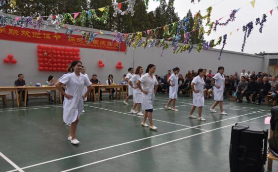 潜江市精神卫生中心举办喜迎国庆佳节医患联欢会