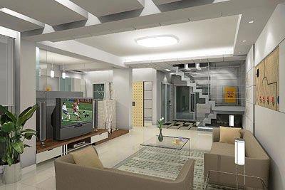 电视墙通常是为了弥补客厅中电视机背景墙面的空旷图片