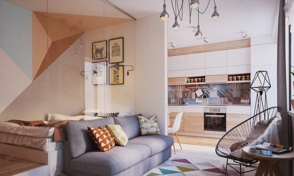 这才是我想要的单身公寓的样子!