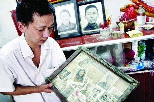 湖北七旬老太湖中救人遇难 两百乡亲含泪送葬