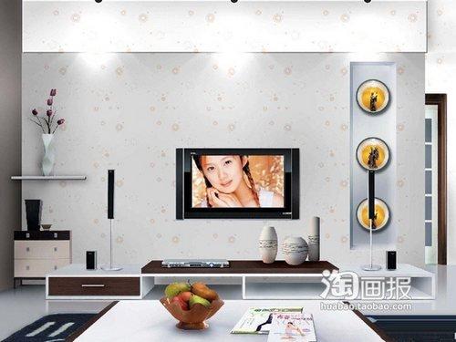 电视背景墙装修效果图2013图片 创意客厅装修图片