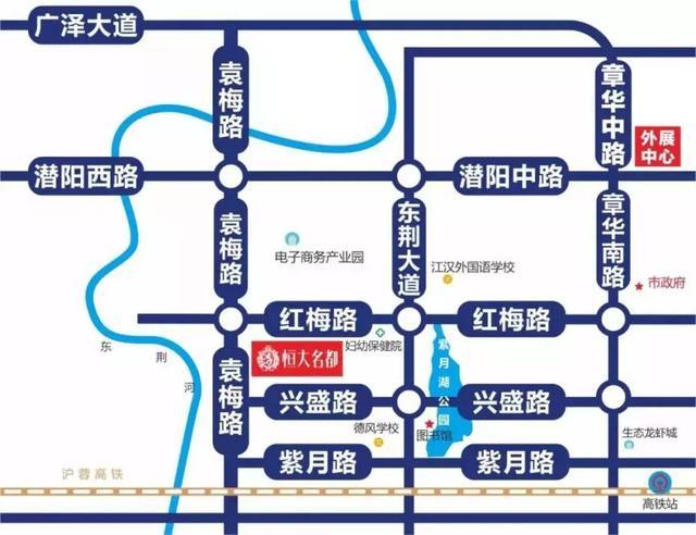 潜江紫月规划图