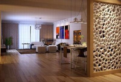 客厅餐厅隔断:木质-客厅餐厅隔断装修效果图 大受热捧装修推荐