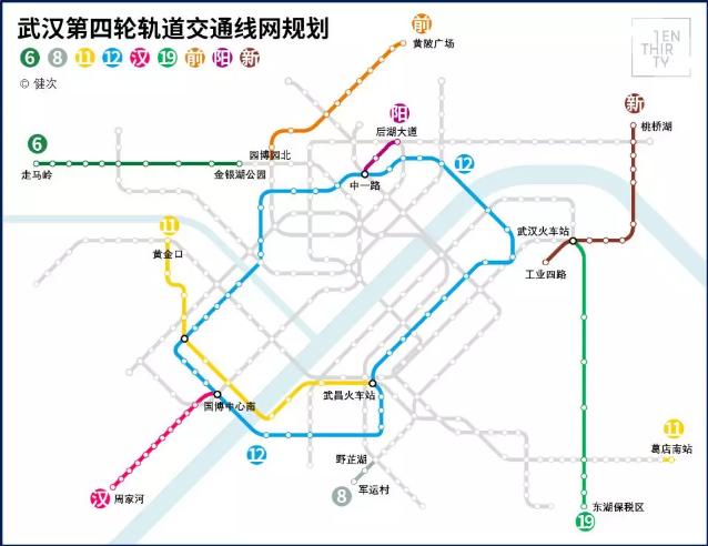 孝感将有地铁啦!武汉地铁13号线或将延伸至孝感