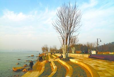 """""""武汉最美绿道""""的东湖绿道"""