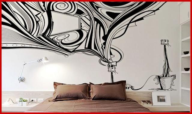 巧手饰家diy 自在设计手绘墙