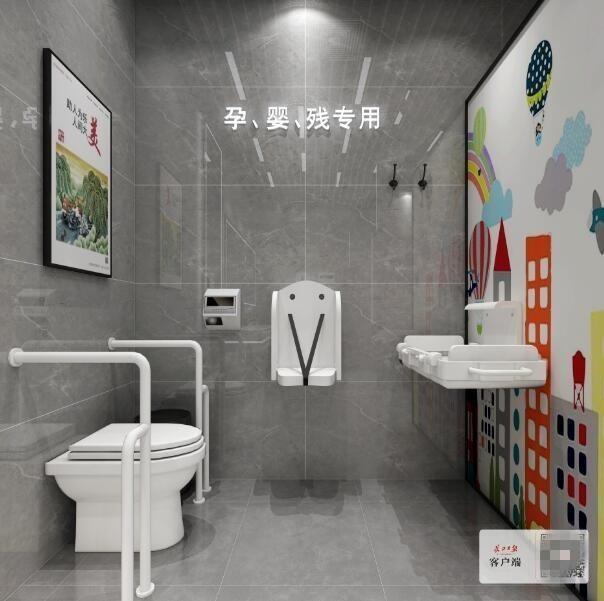 军运会前公共设施升级 汉口火车站公厕启动改造