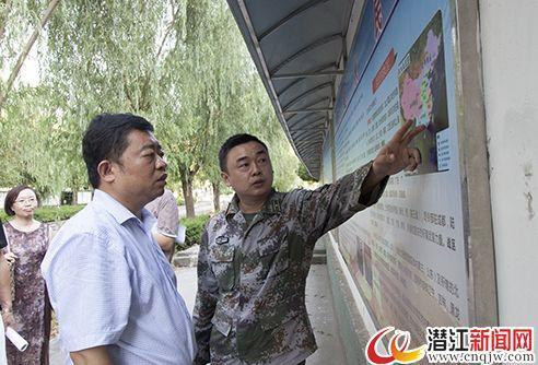 潜江市举办建军90周年铭记历史主题图片纪念展