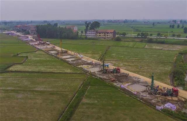 黄梅安九高铁湖北段全面开建 预计2022年通车