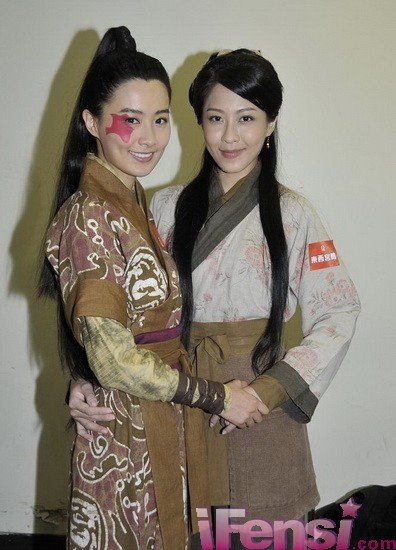东西宫略 开机 陈法拉饰演钟无艳不惜扮丑 组图